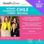 WOMEN ECONOMIC FORUM SE REALIZARÁPOR PRIMERA VEZ EN TODAS LAS REGIONES DE CHILE